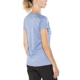 Columbia Zero Rules - Camiseta manga corta Mujer - azul